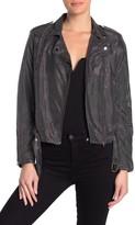 Know One Cares Metallic Moto Jacket