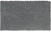 InterDesign Microfiber Frizz Bath Rug, 20 x 30-Inch, Charcoal