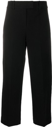 Circolo 1901 High-Waist Cropped Trousers