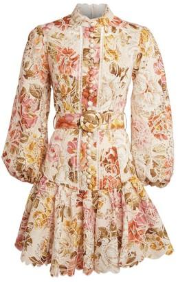 Zimmermann Floral Embroidered Bonita Dress