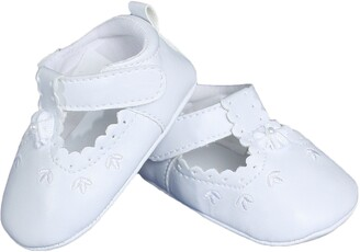 Little Things Mean a Lot Mary Jane Crib Shoe