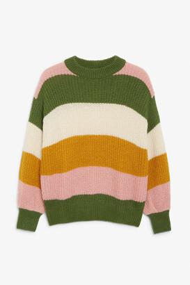 Monki Chunky knit sweater