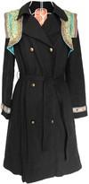 Manoush Black Cotton Coats