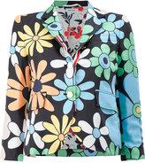 Thom Browne floral print blazer - women - Silk - 38