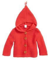 Nordstrom Infant Lofty Organic Cotton Hooded Cardigan
