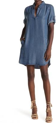 Velvet Heart Macey Roll-Tag Shirt Dress