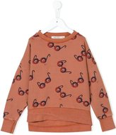 Bobo Choses 'Impossible' glasses sweatshirt