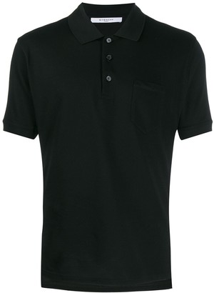 Givenchy Contrast Stripe Polo Shirt