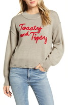 Wildfox Couture Toasty & Tipsy Sweater