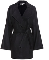 McQ Virgin wool-blend coat