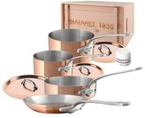 Mauviel 'M'Heritage - M'150S' 7-Piece Copper & Stainless Steel Cookware Set