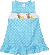Blue Witches Smocked Jumper - Infant, Toddler & Girls