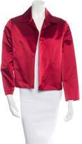 Dusan Long Sleeve Silk Jacket
