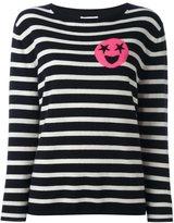 Chinti and Parker breton stripe star emoji sweater