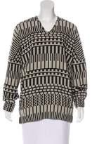 Zero Maria Cornejo Wool Jacquard Tunic