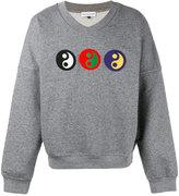 """Gosha Rubchinskiy YIN YANG"""" sweatshirt - men - Cotton - S"""