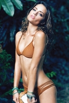 Stone Fox Swim Maui Bikini Bottoms in Bronze
