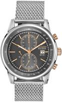 Citizen Silvertone Mesh Bracelet Watch - Men