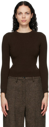Extreme Cashmere Brown Cashmere Kid Sweater