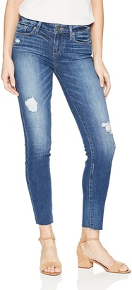 Paige Women's Verdugo Transcend Vintage Mid Rise Skinny Jean