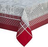 Waterford Wyman Tablecloth in Ruby Damask