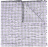 Brioni wrinkled scarf - men - Silk - One Size