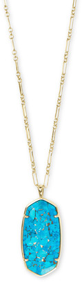 Kendra Scott Reid Faceted Long Pendant Necklace