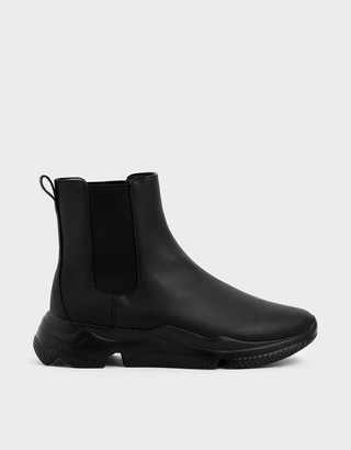 Charles & KeithCharles & Keith Chunky Sole Chelsea Boots
