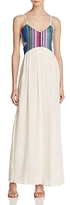 Saylor Embroidered Cutout Maxi Dress - 100% Exclusive