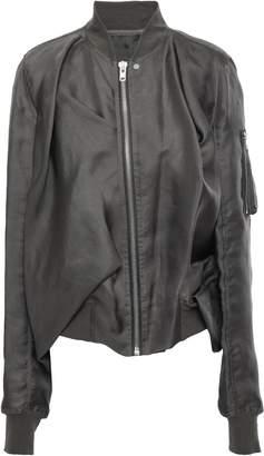 Rick Owens Silk-organza Bomber Jacket