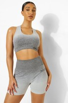 Thumbnail for your product : boohoo Ombre Official Sports Bra