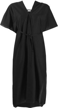 Christian Wijnants Belted Oversized Dress