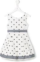 Lapin House - polka dot dress - kids - Cotton/Polyamide/Tactel - 4 yrs