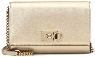 Salvatore Ferragamo Exclusive to Mytheresa a Studio Wallet on Chain shoulder bag