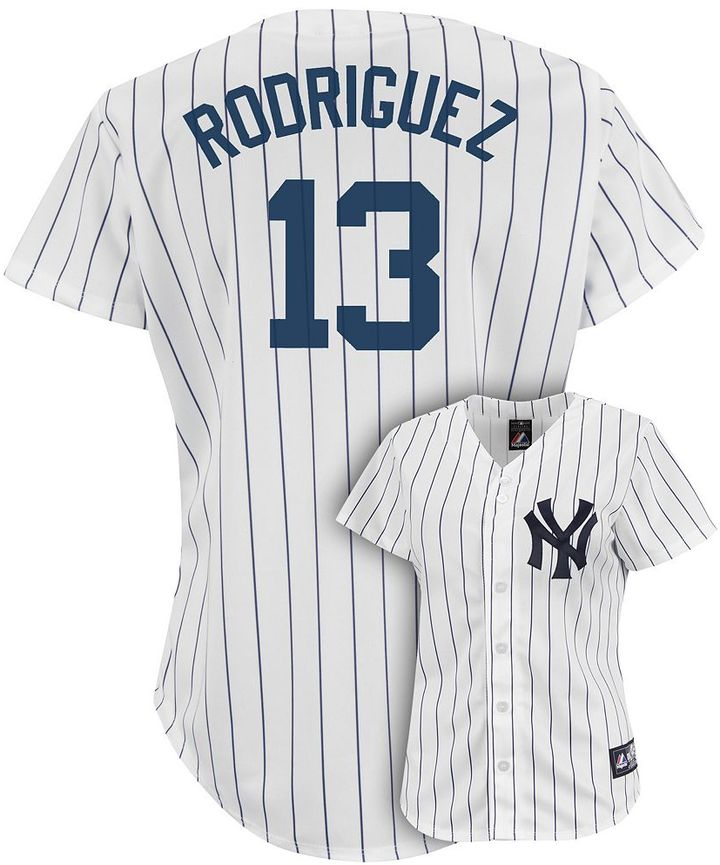 New York Yankees Majestic alex rodriguez jersey - women's