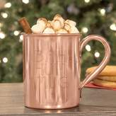 "Cathy's Concepts Cathys concepts Bah Hum Mug"" Copper Moscow Mule Mug"