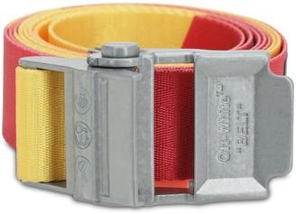Off-White 2.0 Logo Industrial Nylon Webbing Belt