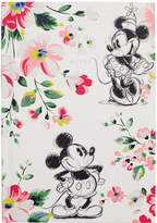 Cath Kidston Mickey and Minnie Bouquet A5 Hard Back Notebook