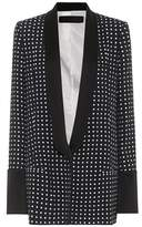 Haider Ackermann Polka-dotted jacket