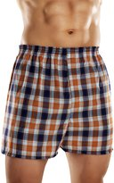 Fruit of the Loom Men's Tartan Woven Boxer - Colors May Vary