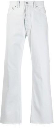 Maison Margiela mid-rise straight leg jeans