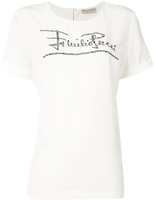 Emilio Pucci crystal-embellished T-shirt