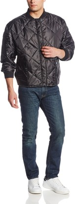 Key Apparel Key Industries Men's Big and Tall & Tall Diamond Quilted Cooler Jacket