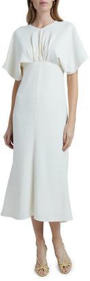 Victoria Beckham Batwing Midi Dress