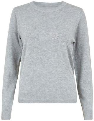 Mela London Grey Star Knit Jumper