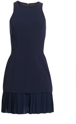 Cinq à Sept Catriona Pleat-Hem Sheath Dress