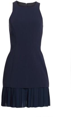 Cinq à Sept Catriona Pleat-Hem Sheath Dress
