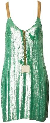 Yigal Azrouel Green Dress for Women
