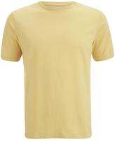 Folk Plain Crew Neck Tshirt - Washed Out Amber