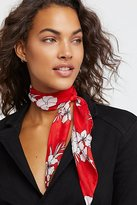 Free People That's A Wrap Printed Neck Tie